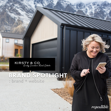 BRAND SPOTLIGHT: Kirsty Sinclair Real Estate - Web, Brand + Photos by Repeatable