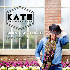 BRAND SPOTLIGHT: Kate the Gardener Web, Brand + Photography by Repeatable