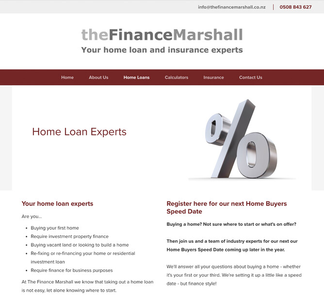 The Finance Marshall BEFORE