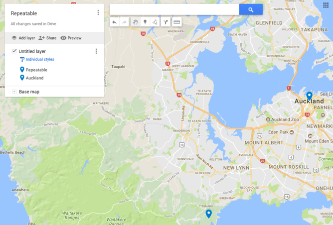 How to Pin Point Multiple Locations on Google Maps | Repeatable