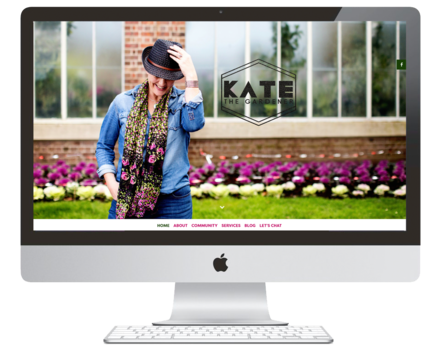 Kate the Gardner | Website Design | Repeatable