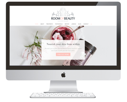 Room of Beauty Website Design | Repeatable